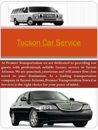 Tucson Car Service