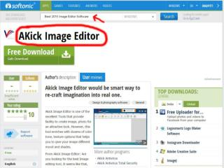 Akick - Latest Image Editor Free Download