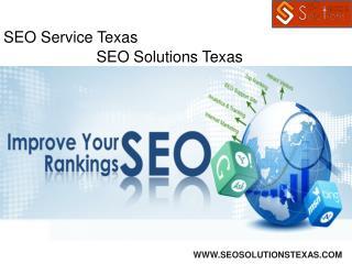 SEO Service Texas