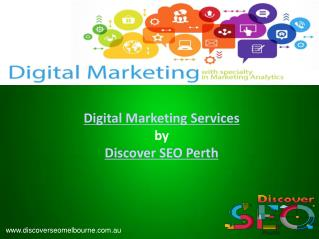 Digital Marketing  | Discover SEO Perth