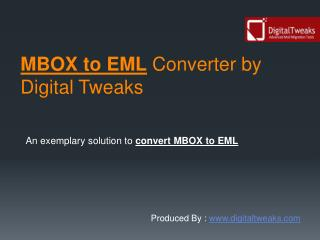 MBOX to EML Converter Free