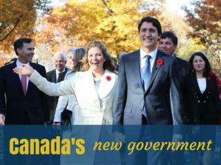 Canada's new government