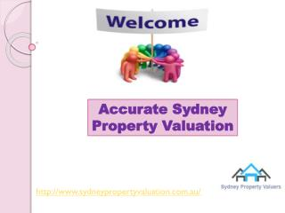 Accurate Sydney Property Valuation for home valuations