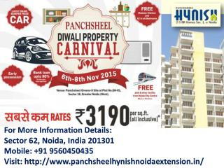 Panchsheel Hynish 2/3 fully Furnished Homes Call  91 9560450435