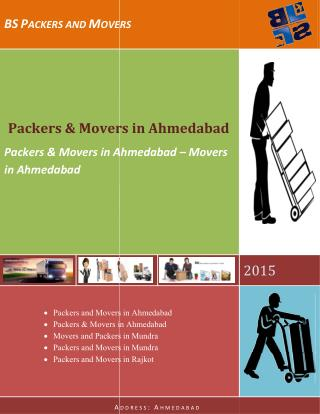 Packers & Movers in Ahmedabad – Movers in Ahmedabad
