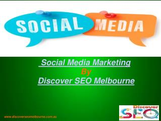 Social Media Marketing | Discover SEO Melbourne