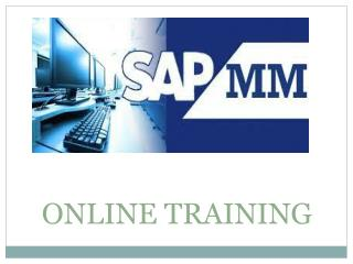 Best SAP MM Online Training In India, UK,  USA, Canada