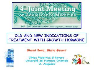 Clinica Pediatrica di Novara  Universit  del Piemonte Orientale  A. Avogadro