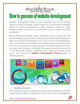How to process of website development