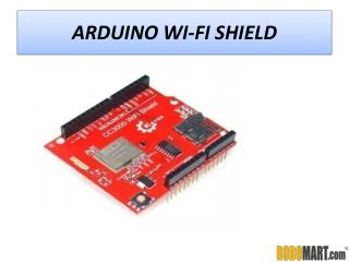 Buy Arduino Wi-Fi Shield by ROBOMART
