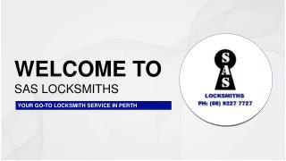 24 Hour Emergency and Auto Locksmiths in Perth