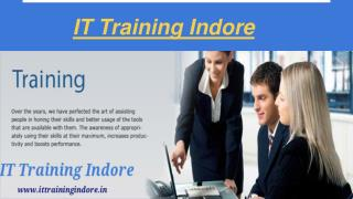 Web design training courses in indore