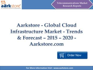Aarkstore - Global Cloud Infrastructure Market - Trends & Forecast – 2015 – 2020 - Aarkstore.com