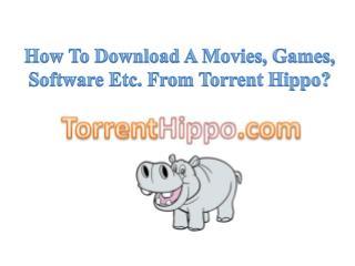 TorrentHippo.com Provides Free Movie Downloads