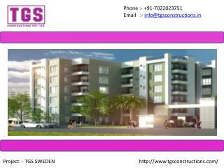 Flats & Apartments In Channasandra - TGS Constructions