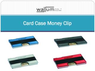 Card Case Money Clip
