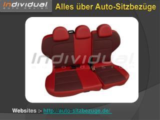 Individual Auto Design - Für Auto-Sitzabdeckung