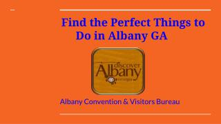 Albany Convention & Visitors Bureau