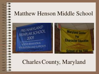 Matthew Henson Middle School