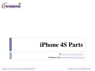 iPhone 4S Parts- Genuine Apple OEM and Non-OEM