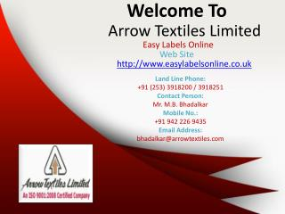 Easy labels online custom clothing labels uk garment labels