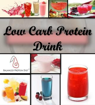 Low Carb Protein Drinks