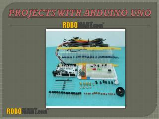 Projects with Arduino Uno-Robomart