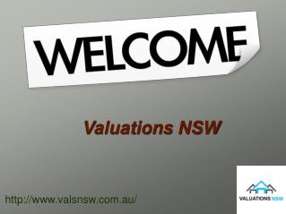 Valuations NSW For Best Home Valuation In Sydney