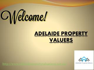 Adelaide Property Valuers for land valuations