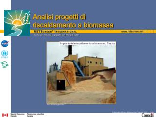Corso per l analisi di progetti con energie pulite