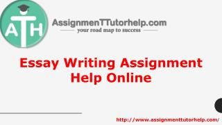 Essay Writing Assignment Help Online