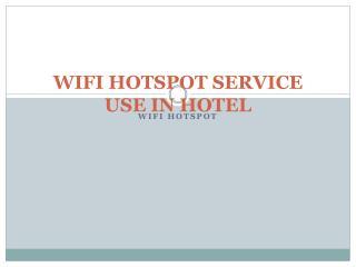WiFi HotSpot Importent Useful in Hotel   | kavach.mobi