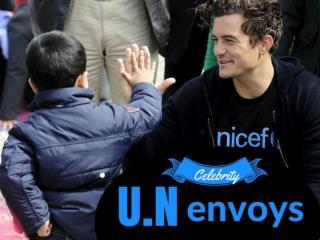 Celebrity U.N. envoys