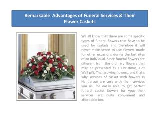 Different Types of Casket Flowers and their Significance
