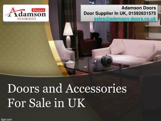 Doors and Accessories For Sale in UK
