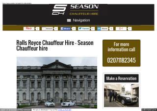 Range Rover Chauffeur Provider