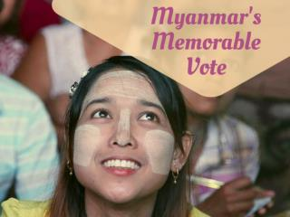 Myanmar's memorable vote