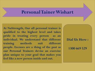 Personal Tainer Wishart - NuStrength