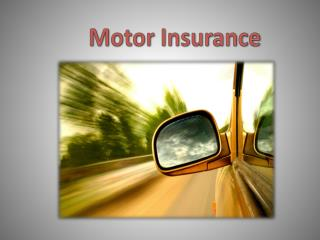 Motor Insurance - What to Do If You Lose Your Motor Insurance