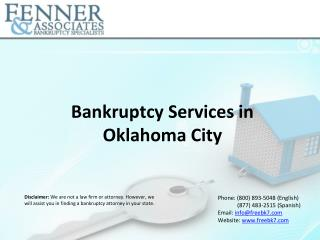 Bankruptcy Services in Oklahoma City