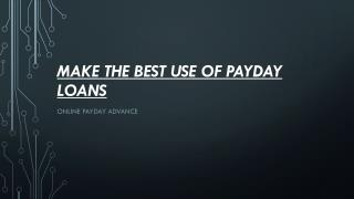 online payday advance