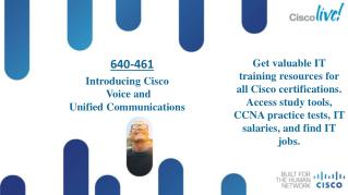 Pass4sure 640-461 Cisco Voice And Unified Communications