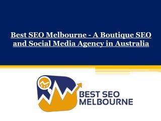 Social Media Agency Melbourne