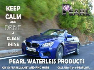 Pearl Waterless Car Wash Product Designed for Car Care.