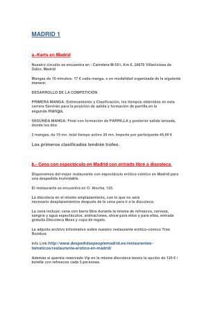 MADRID OPCION 1