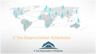 E Tax Depreciation Schedules For Accumulated Depreciation