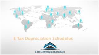 E Tax Depreciation Schedules For Accumulated Depreciation