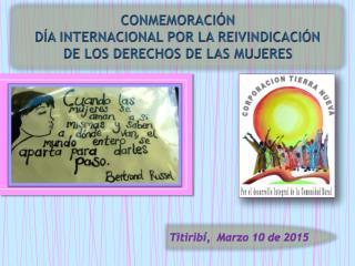 150310_Conmemoración Día Por los Derechos De Las Mujeres