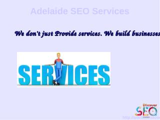 Internet Marketing Services Adelaide SEO