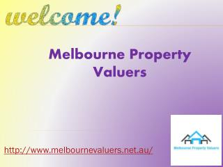Melbourne Property Valuers for house valuations
